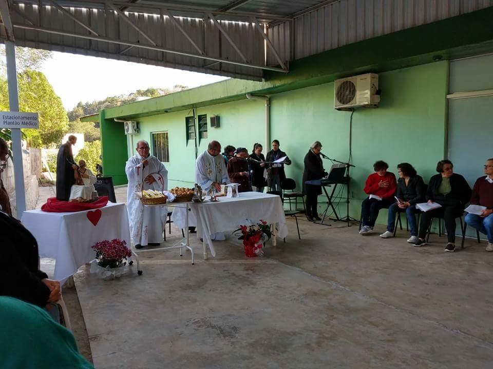VISITA E FORMAÇÃO DA PASTORAL DA SAÚDE EM IPUMIRIM/SC