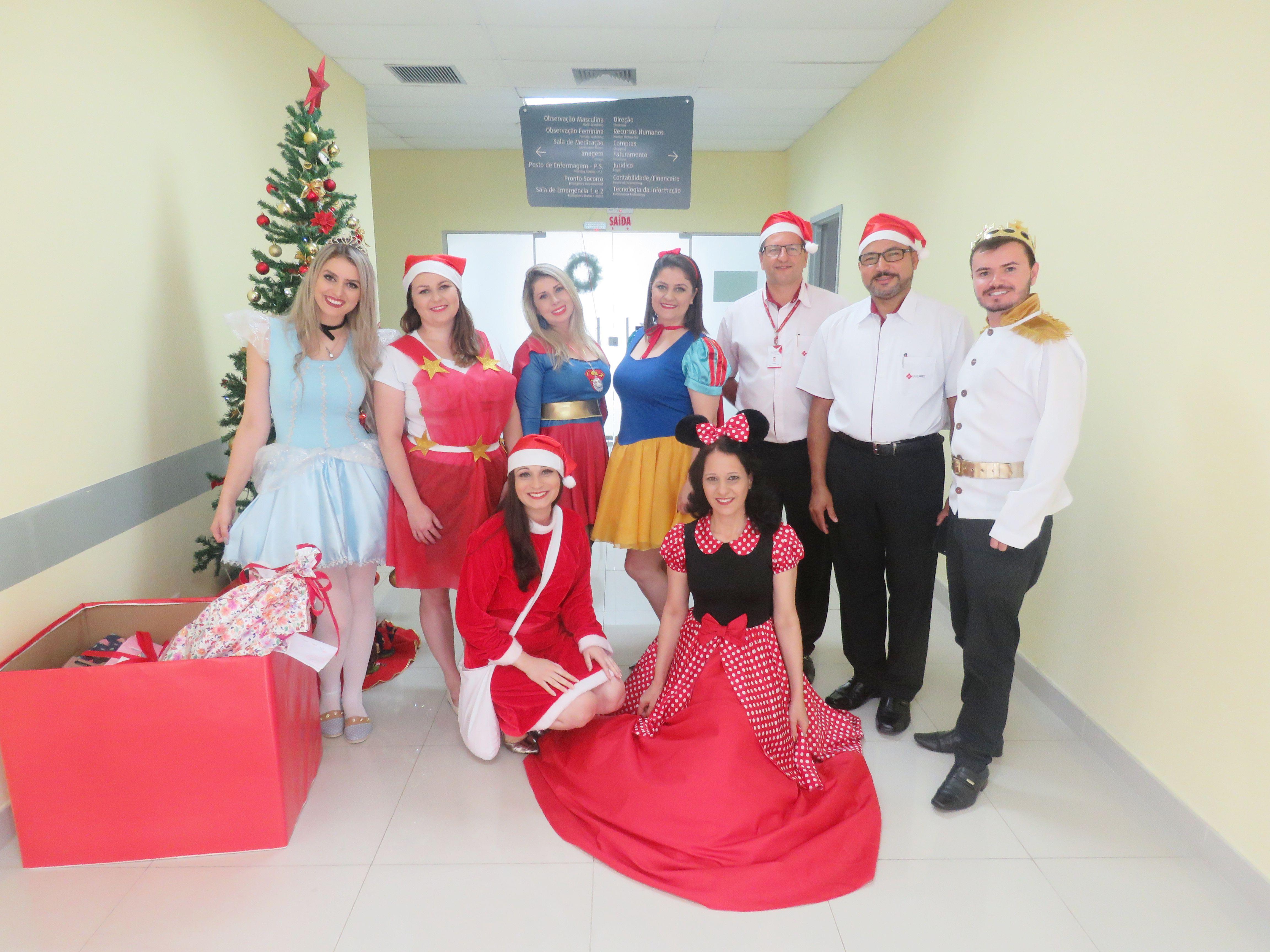 DIA DE ALEGRIA: AÇÃO SOLIDÁRIA 2018 HOSPITAL REGIONAL HELMUTH NASS