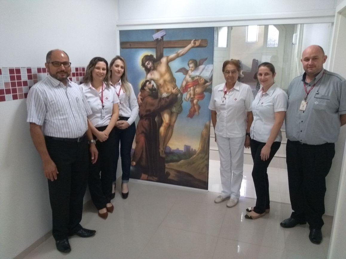 FORMAÇÃO PASTORAL DA SAÚDE - 18º JORNADA DA PASTORAL DA SAÚDE SÃO CAMILO HOSPITAL SÃO FRANCISCO DE CONCÓRDIA/SC