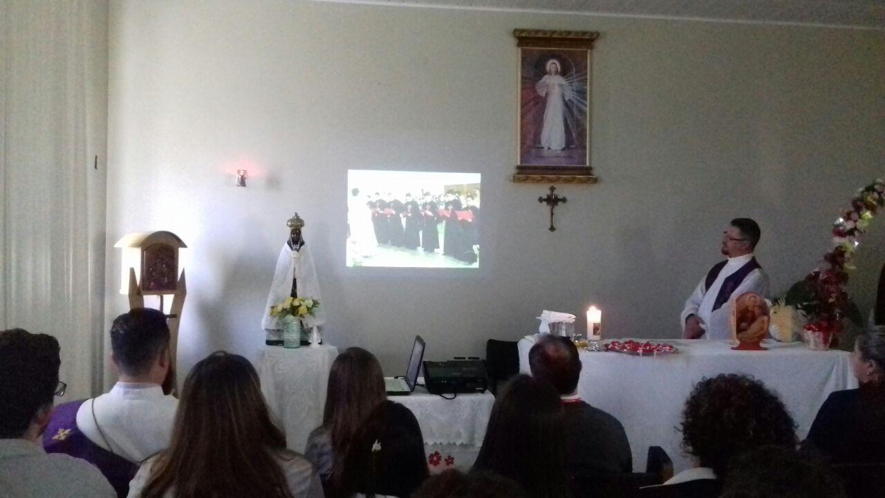 SÃO CAMILO - HOSPITAL REGIONAL NOSSA SENHORA APARECIDA DE UNIÃO DA VITÓRIA REALIZA SANTA MISSA EM HONRA A SÃO CAMILO DE LELLIS 16 DE JULHO DE 2018