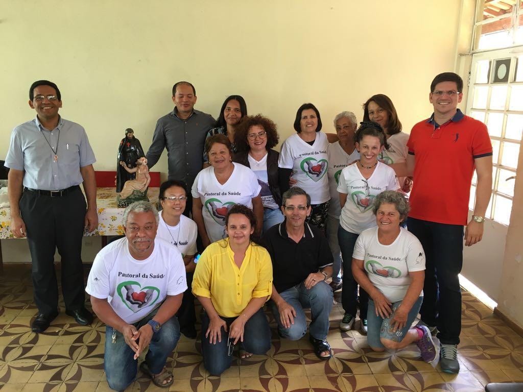 Formação da Pastoral da Saúde na Paróquia São Dimas - Arquidiocese de Belo Horizonte