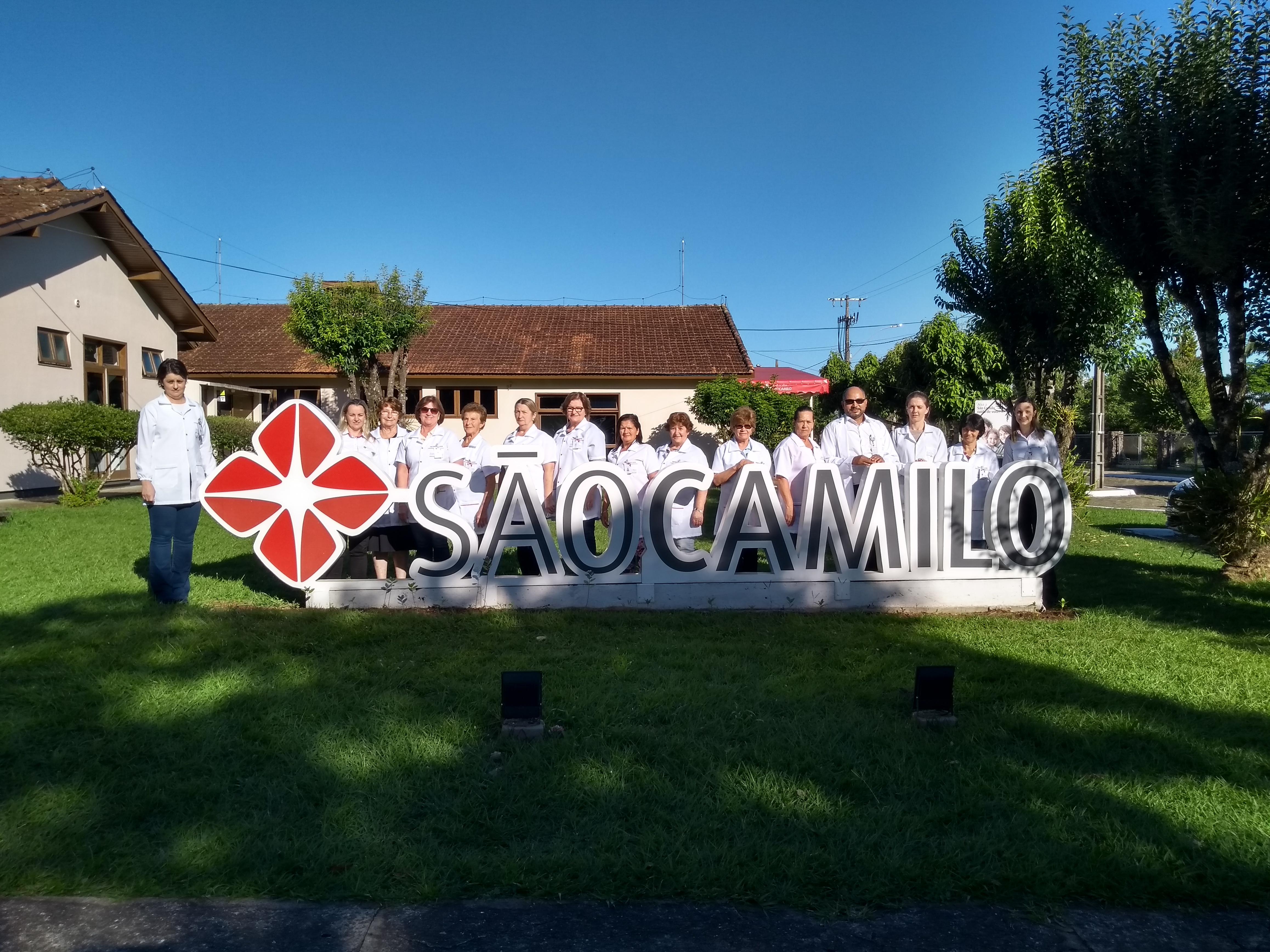 VISITA E FORMAÇÃO PASTORAL DA SAÚDE SÃO CAMILO HOSPITAL SÃO PEDRO DE ITÁ/SC