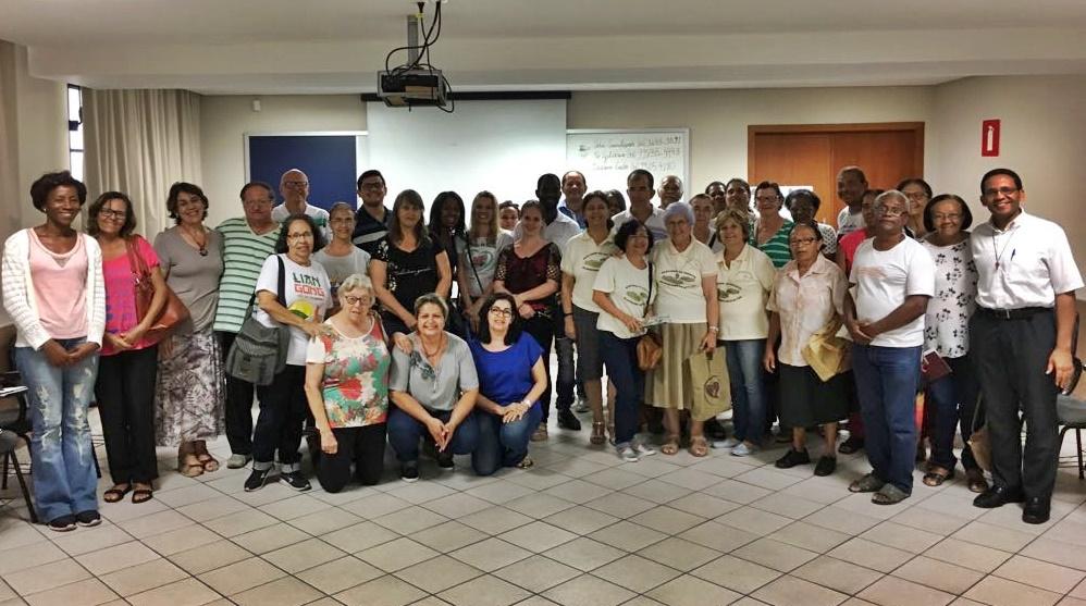 Reunião com coordenadores paroquiais da Pastoral da Saúde da Arquidiocese de Belo Horizonte