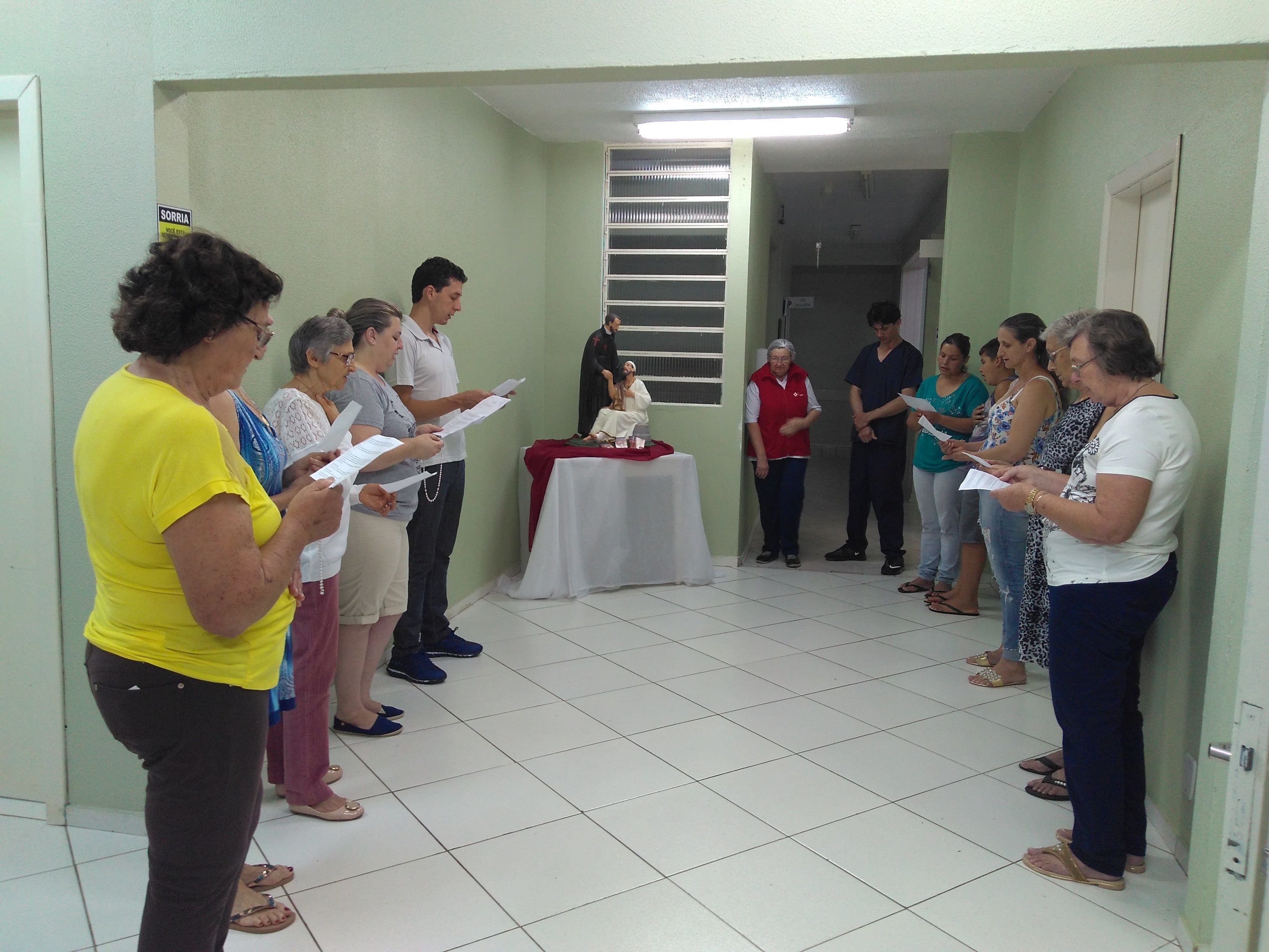 DIA MUNDIAL DO DOENTE Beneficência Camiliana do Sul Hospital São Camilo / Ipumirim SC