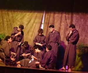 Grupo de Teatro Juventude e Arte apresenta o Musical sobre a vida de São Francisco de Assis no Santuário São Camilo no Rio de Janeiro