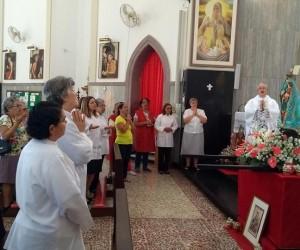 """Santuário São Camilo do Rio de Janeiro celebra a festa de Nossa Senhora """"Saúde dos Enfermos"""""""