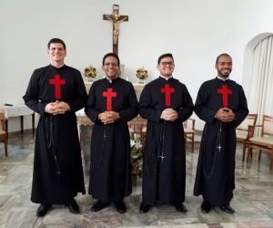 Primeira Profissão religiosa do Noviço Lucas