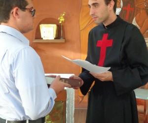 Ingresso no noviciado em 2018