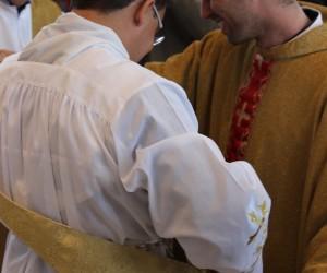 Ordenação diaconal dos Religiosos Aécio Honorato e Elielton José da Silva