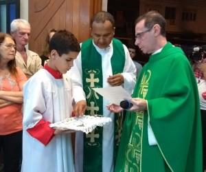 Posse do Pe. José Carlos Dias Souza como pároco da Paróquia do Santíssimo Sacramento da Eucaristia de Cachoeiro de Itapemirim